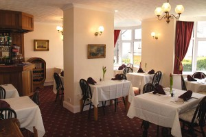 Blair Lodge's dining room